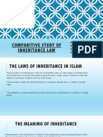Comparitive Study of Inheritance Law