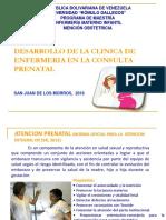 Consulta Prenatal Clase 2 Modificada