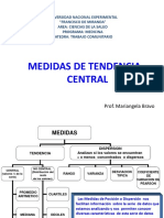 Medidas Tendencia Central