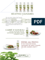 Idees Recettes Garden Party