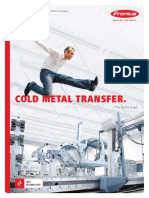 Fronius Cold Metal Transfer