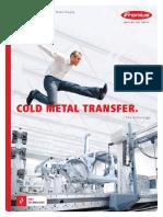 Fronius Cold Metal Transfer