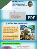 El Valor de La Biodiversidad