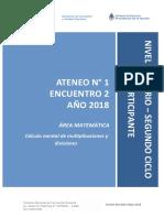 Prim - At Didáctico N° 1 Enc 2 - 2do Ciclo Matemática BORRADOR - Carpeta Participante.pdf