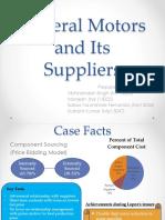 GM BuyerSupplierRelationship