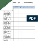 Cuestionario de evaluación interna