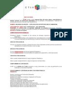 Perfil Ingeniero Resiente - Perforacion Diamantina