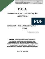 P.C.A -Programa de Conservação Auditiva