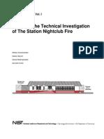 Station NIght Club Fire NIST Report