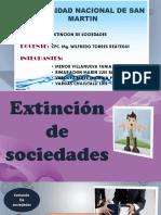 Extincion de Sociedades