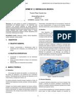 Informe 2 Hidraulica BASICA
