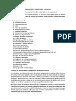 Análisis de La Competencia Estructura