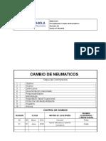 Procedimiento de Desmontaje y Montaje de Neumatico