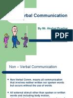 21803732 Non Verbal Communication