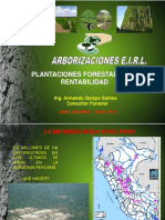 i.- Plantaciones Forestales de Alta Rentabilidad