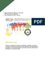 Census and Secc