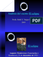 Análisis del cuento El eclipse