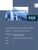 Informe de laboratorio de mecanica de suelos