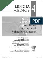 Violencia y Medios 4 Periodismo Reforma Penal y Derechos Humanos