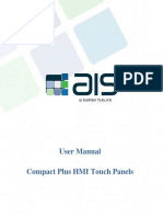 AIS Compact Plus HMI Touch Panels_User Manual