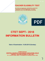 CTET Notification