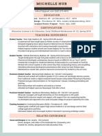 june resume without address