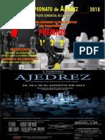 Afiche Torneo Ajedrez