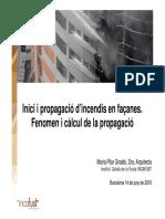 Propagación Por Fachadas de Incendios