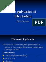 Pile Galvanice Si Electroliza
