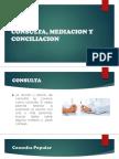 Consulta, Mediacion y Conciliacion