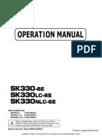 SK330NLC-6E MANUAL
