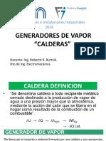1-Generadores de Vapor - Calderas