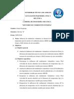 Informe de Las Graficas Del Rendimiento Volumetrico
