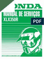 Manual de Servico XLX 350R 1989-90