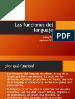 Las Funciones Del Lenguaje.preliminar