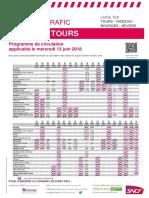 Tours-Vierzon-Bourges-Nevers 13 juin