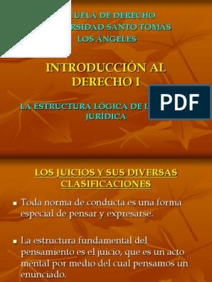 La Estructura Lógica De La Norma Jurídica Ppt Policía