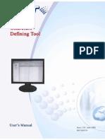Gstdef Defining Tool User's Manual