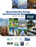 Massachusetts Energy and Environment Report Card