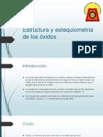 6-Estructura y Estequiometria de Los Óxidos