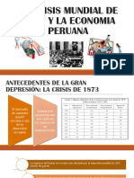 La Crisis Mundial de 1929 y La Economia