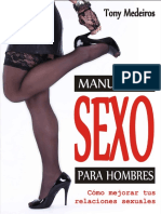 Manual de Sexo Para Hombres - Tony Medeiros