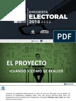 Estudio Electoral 2018 Coparmex