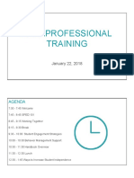 paraprofessional training 2018