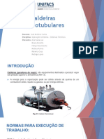 CALDEIRAS FLAMOTUBULARES - APRESENTAÇÃO