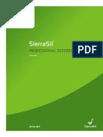 SierraSil ProfRefGuide v5.2 Web