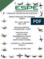 Analisis Del Avion