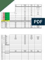 Tabla de Mineralogía - Propiedades y Clasificación Química 11