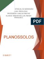 Planossolos Slide