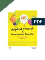 Broșură Prezentare Applied Theatre in Contemporary Education
